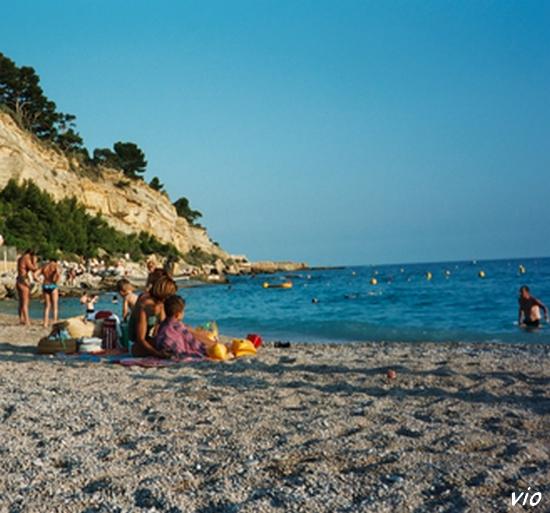 plage de Cassis