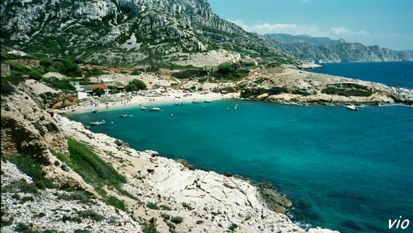 La Callanque de Marseilleveyre
