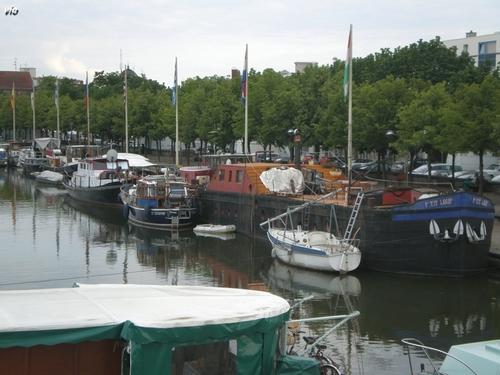 Canal de la Meurthe à Nancy