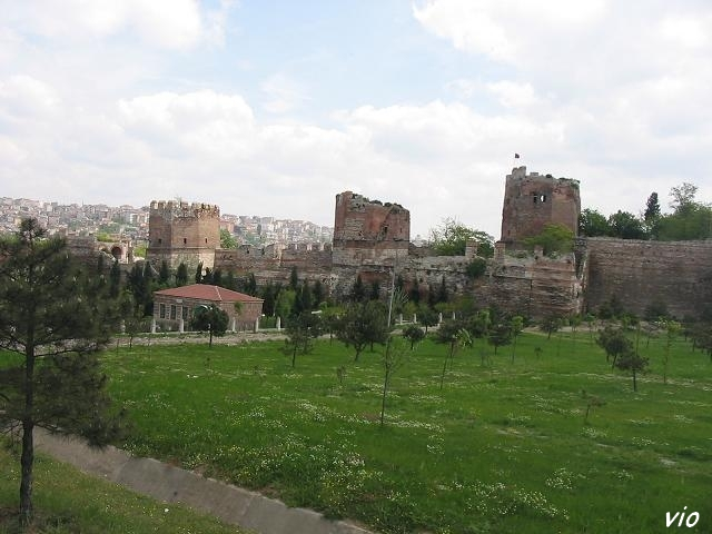 La grande muraille de Théodose