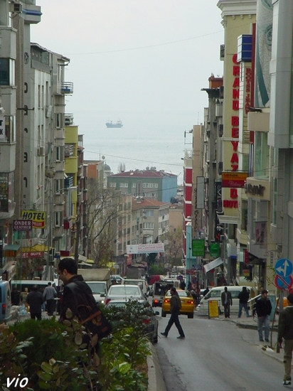 Une vue sur la mer de Marmara