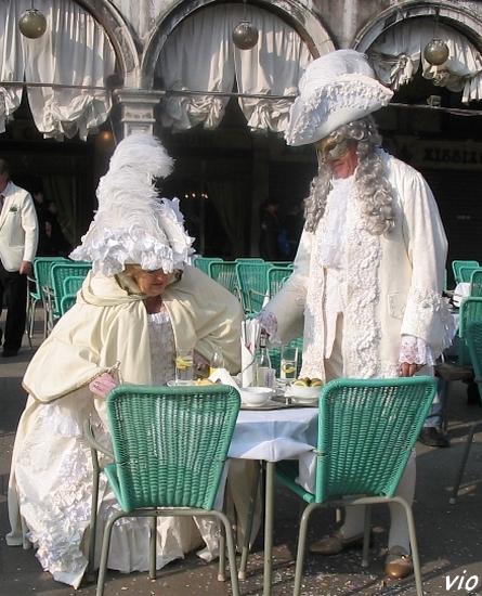 Après la parade, un bon Capuccino !