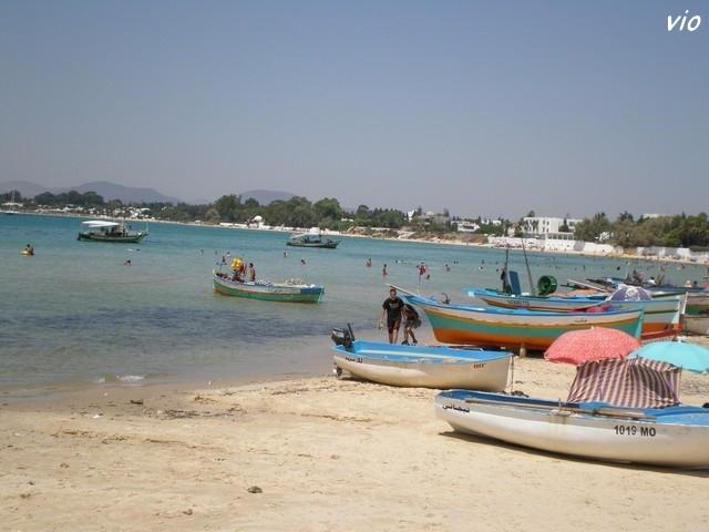 La plage d' Hammammet