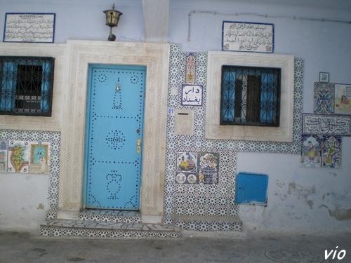 Une jolie petite maison à l'entrée de la Médina