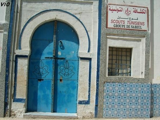 Les scouts tunisiens à Nabeul !