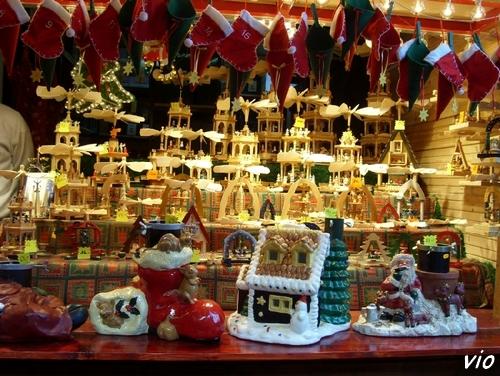 Echoppe du marché de Noël, place Broglie