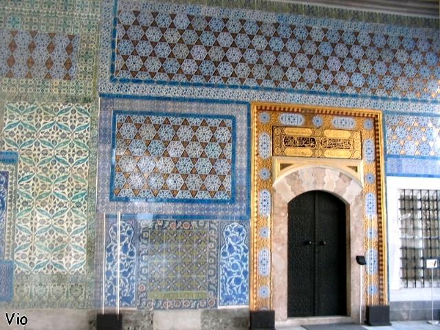 Topkapi et ses fabuleuses mosaïques d'Izmit