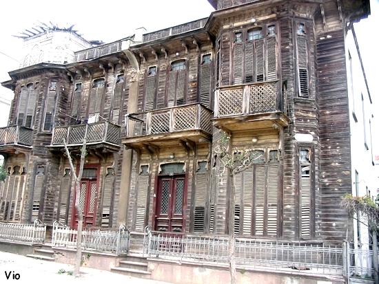 maison ottomane en bois à Büyü kada