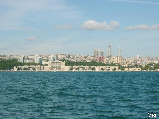 Une vue de l'Istanbul moderne