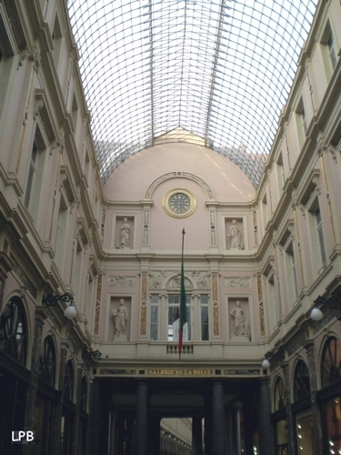 Galeries Royales Saint Hubert - Galerie de la Reine
