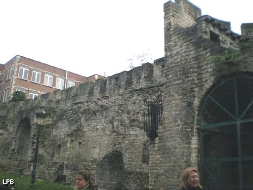 Vestiges des fortifications de Bruxelles