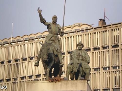 Don Quijote de la Mancha et Sancho Pança - Place d'Espagne