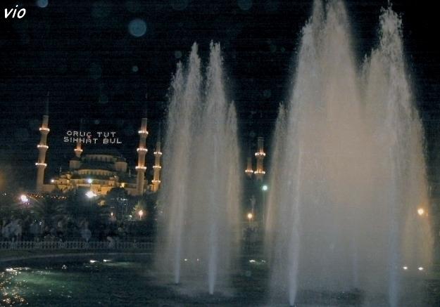 Les jardins de la Mosquée de Sultanahmet