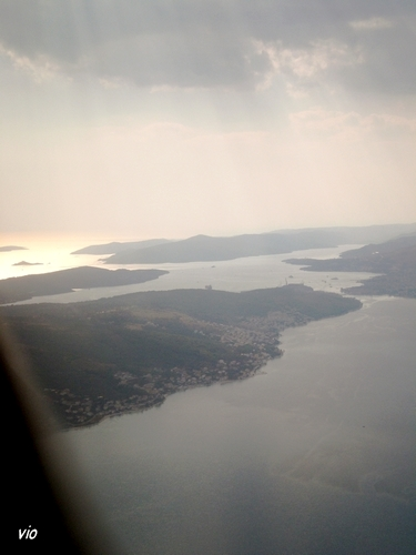 Les iles de Dalmatie centrale, en arrivant sur Split