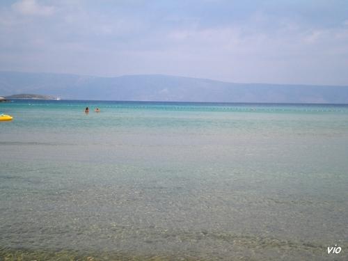 Une autre plage de sable à quelques centaines de mètres de Mina Beach, plus précisément à Grebisce Beach
