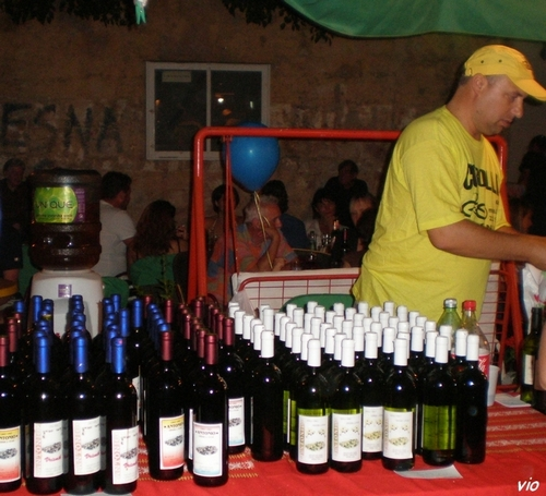 fête du vin à Jelsa