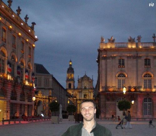 Place Stanislas ... le seigneur des lieux !