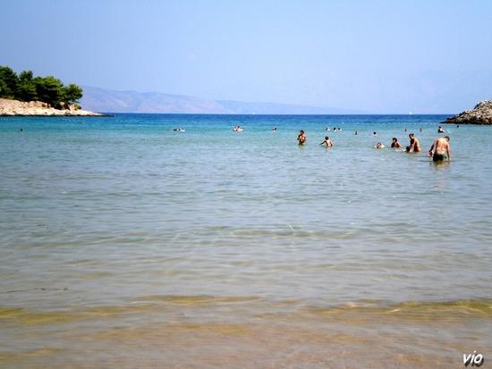 Mina Beach, sur la route de Sucuraj