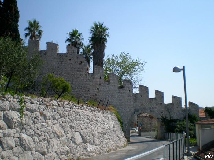 Les murailles de la forteresse espagnole