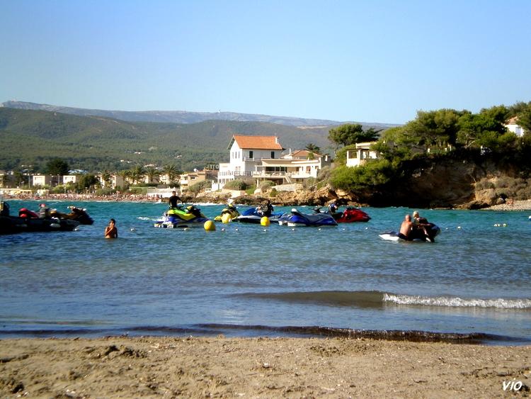La Madrague, commune de Saint Cyr sur Mer - les Lecques