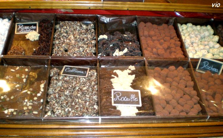 Miammm ... du chocolat en veux-tu ? en voilà ...