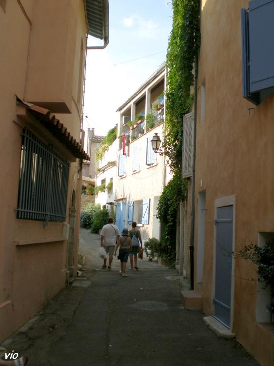 les ruelles du Castellet