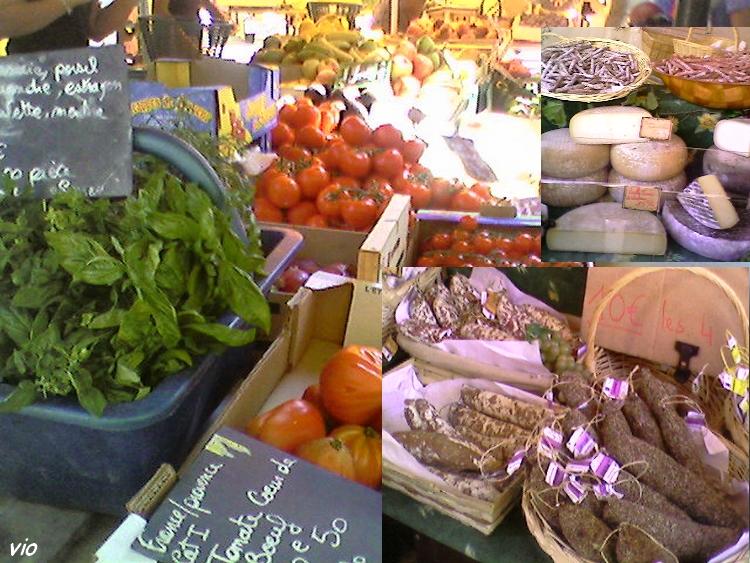 Marché provençal de St Cyr sur Mer