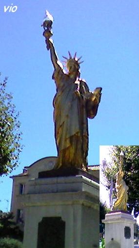 La statue de la Liberté à St Cyr