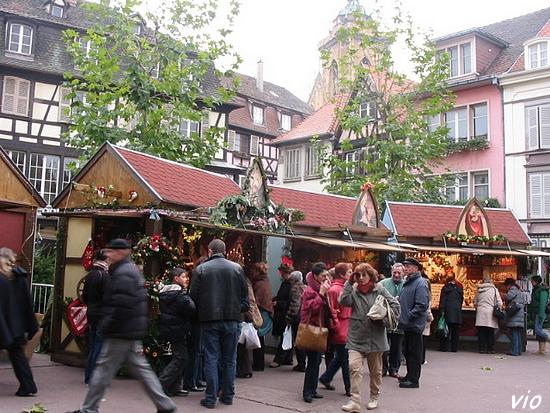Un petit marchés à Noël de Colmar