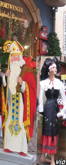 Saint Nicolas et l'Alsacienne