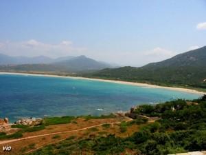 Le golfe du Valinco en Corse du Sud (Propriano)