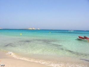 La sublime plage de Palombaggia ... trop touristique à mon goût en été !! (corse du sud)