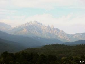 Les aiguilles de Bavella en Alta Rocca (Corse du Sud)