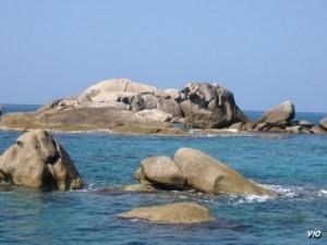 En allant sur Bonifacio, par la mer (Corse du Sud)