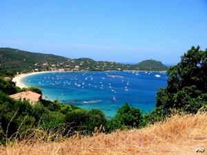 La superbe plage de Campomoro (Corse du Sud)