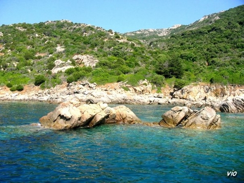 En allant par la mer à Bonifacio