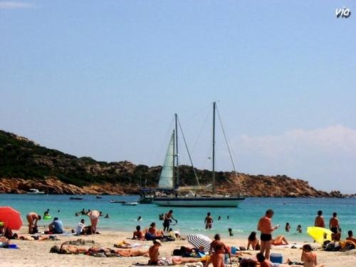 Plage de Rocapina (Corse du Sud)