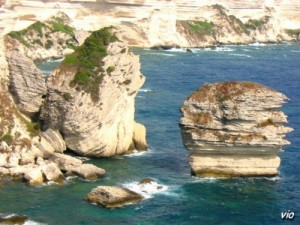 """Le """"grain de sable"""" à Bonifacio (Corse du Sud)"""