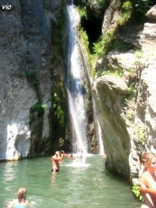 Cascade de l'Ucellina - au dessus de Moriani / San Nicolao (Haute Corse)
