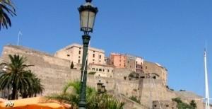 La citadelle de Calvi, où se trouve la maison natale de Christophe Colomb !