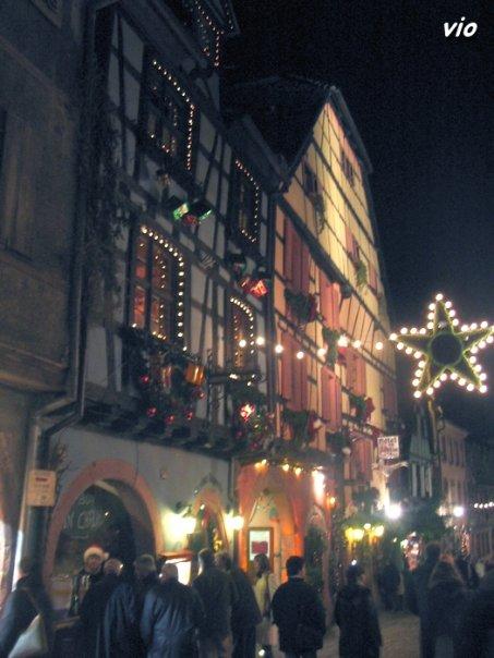 Marché de Noël à Riquewihr - route des vins