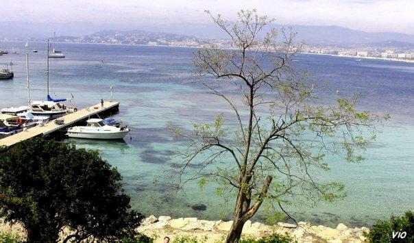 Ile Sainte Marguerite (Iles de Lérins au large de Cannes)