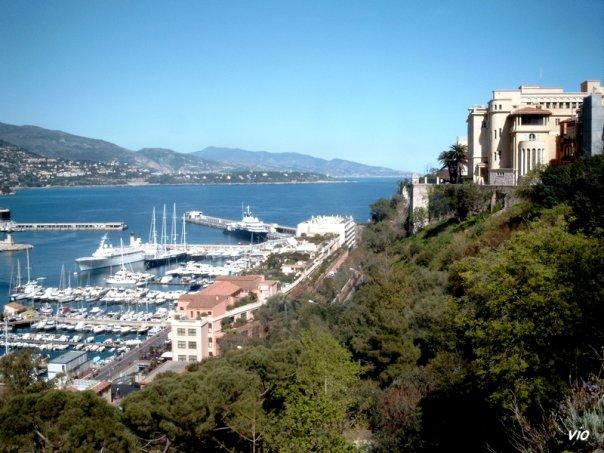 la baie de Monaco et la résidence des Grimaldi