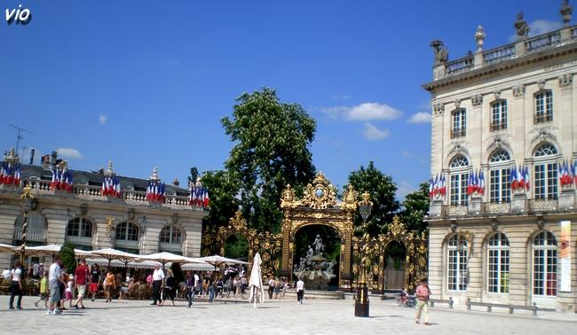 Place Stanislas, plus souvent appelée : place Stan !