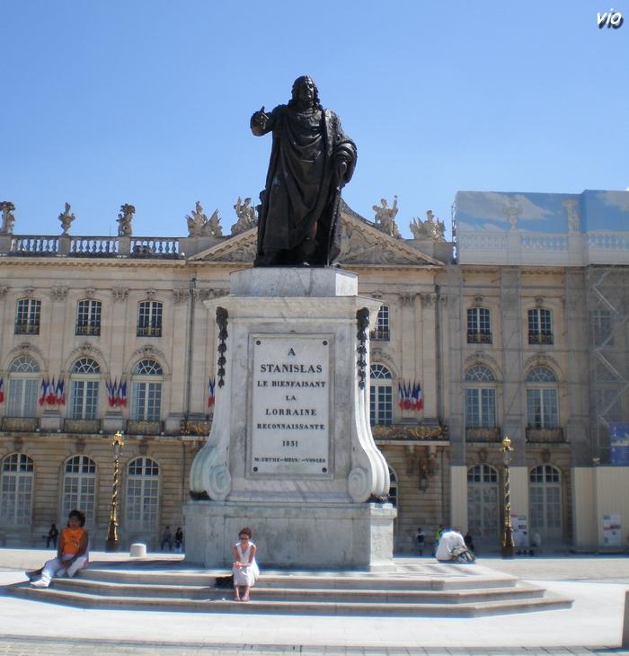 Statue de Stanislas le Bienfaisant