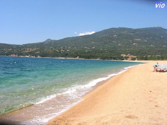 La plage d'Olmeto