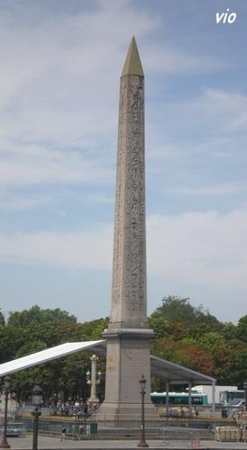 L' Obélisque place de la Concorde