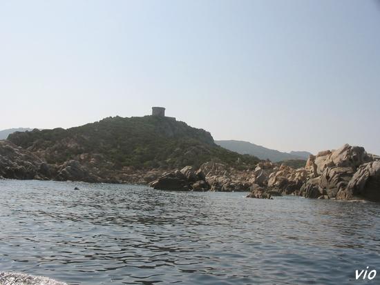 La tour gênoise de Campomoro