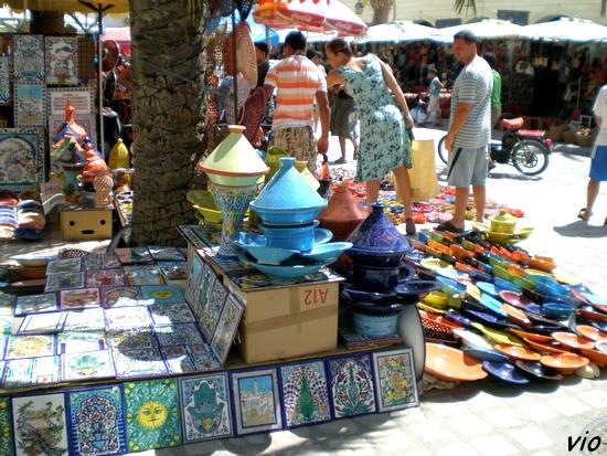 Mosaïques et poteries