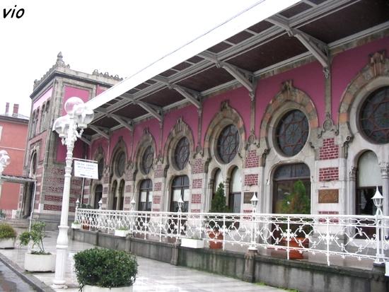 La gare de l'Orient Express